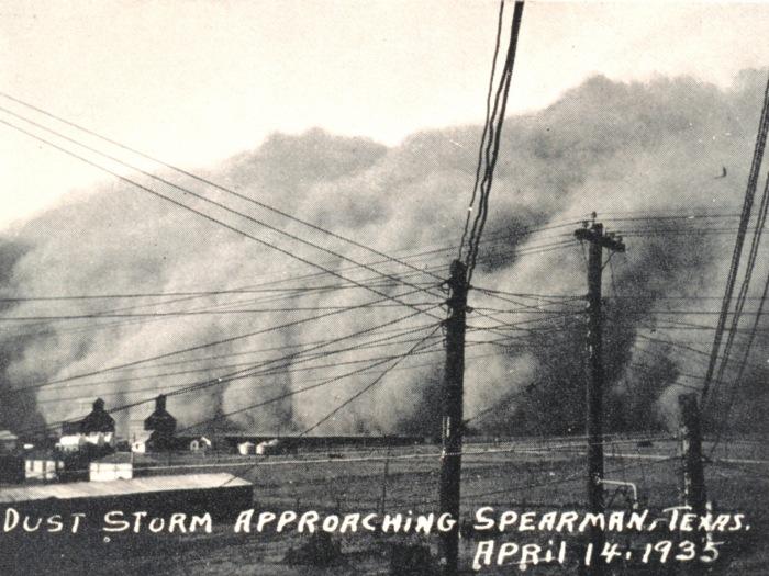 The Dust Bowl dan Black Sunday (14 April 1935)