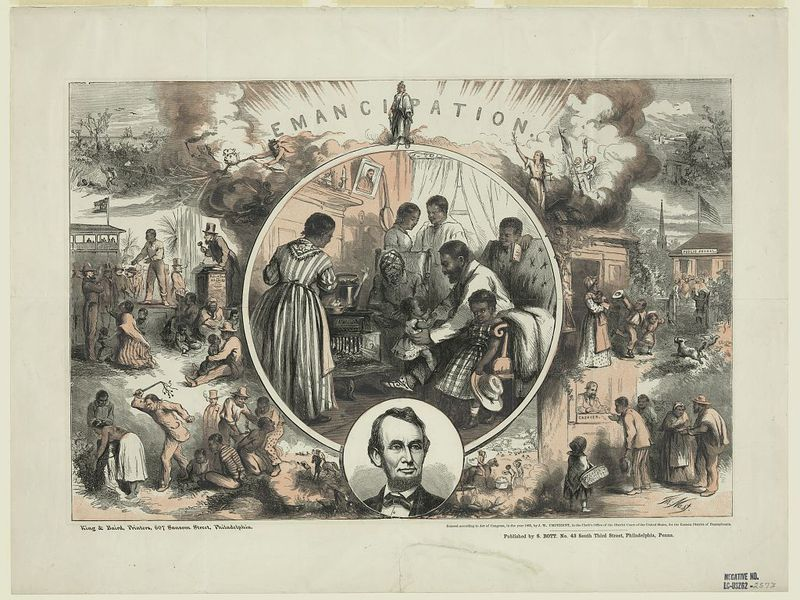Black Historian Documents Lincoln